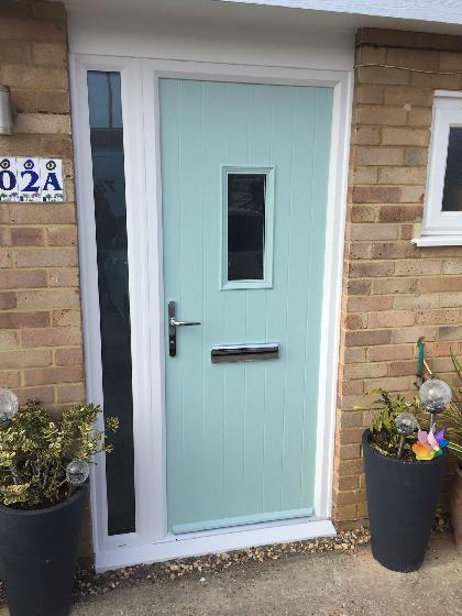 Composite door, Peacehaven, East Sussex