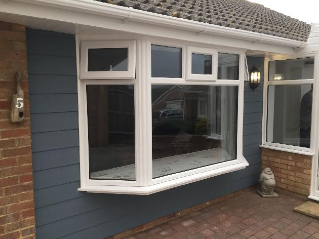uPVC Bay Window, East Sussex.